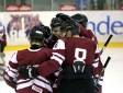 U-20 hokejisti uzvar Baltkrieviju un triumfē turnīrā