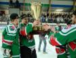 """HK """"Liepāja"""" kļūst par Latvijas čempioniem hokejā"""