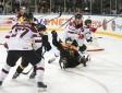 Latvijas hokeja izlase piekāpjas Vācijai