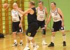 Basketbola veterāni nospēlējuši kārtējās spēles