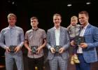 Foto: LFS godina labākos spēlētājus, trenerus un tiesnešus