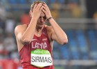 Eiropas čempions Sirmais pirmajā startā pēc traumas samierinās ar 73 metriem