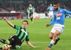 """""""Napoli"""" nenotur uzvaru, Bonuči un Alvešs nespēlēs vairākus mēnešus"""