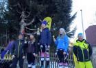 Jaunajiem kalnu slēpotājiem godalgotas vietas starptautiskajās sacensībās