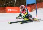 Latvijas kausa otro posmu kalnu slēpošanā iesākuši arī vecāko grupu pārstāvji