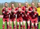 Latvijas U17 meiteņu izlase ar 0:6 zaudē Baltkrievijai