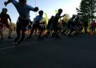 """Znotiņš nepārspēts sprintā 1.posmā """"Skibox balvā"""" skrituļslidošanā"""