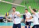 Latvija iesāk ar 1:8 un bezcerīgi trīs setos zaudē Slovēnijai