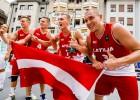 """E.Krūmiņš: """"Arī pēc uzvaras Eiropas kausā 3x3 basketbols ir hobija līmenī"""""""