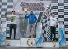 Macuks un Ivanovs Somerpalu motokrosā aiz pjedestāla, Kozlovskim uzvara