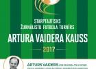 """Baltijas sporta žurnālisti un Latvijas futbola zvaigznes piedalīsies """"Artura Vaidera kausā"""""""