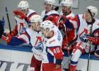 """""""Lokomotiv"""" iemet trīs vārtus pēdējā periodā, izcīnot pirmo uzvaru Dzelzceļa kausā"""