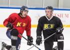 """Staptautiskais hokejs Rumbulā: """"Kurbadam"""" pirmizrāde Eirokausos"""