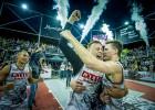 """Ar """"Ghetto Basket"""" 3x3 basketbolistu uzvaru atklāts Grīziņkalna kolizejs"""