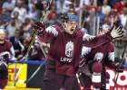Latvijai lielā kauja ceturtdaļfinālā pret pasaules čempioni Zviedriju