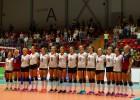 Latvijas volejbolistes cīnās arvien labāk, bet zaudē arī Rumānijai