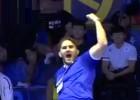 Video: Somu treneris vareni priecājas par Krievijas atlēta sakaušanu