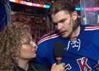 Video: SKA spēlētāju Tihonovu intervē laulātā draudzene