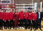 Bokseris Tenčs ar grūtu uzvaru sāk Eiropas junioru čempionātu
