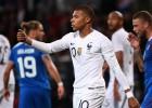 Islandes neveiksme un Mbapē pendele ļauj Francijai beigās izglābties no 0:2
