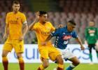 """""""Roma"""" aizsardzība <i>aizmieg</i> 90. minūtē un nenotur uzvaru pret """"Napoli"""""""