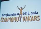 Video: Čempionu vakarā sumina Latvijas gada labākos riteņbraucējus