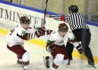 Latvijas U20 izlase pieveic Baltkrieviju un izvairās no izkrišanas uz B grupu