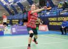 Badmintoniste Berga pārvar kvalifikāciju starptautiskā turnīrā Tallinā