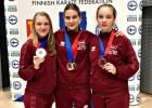 Karatē cīkstonei Koridzei septītā vieta Eiropas U21 čempionātā