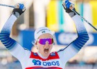 Zviedru distanču slēpotāja Nilsone iegūst Mazo kristāla globusu sprintā