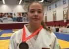 Džudiste Dolgiļeviča izcīna piekto vietu Eiropas Jaunatnes olimpiādes sacensībās