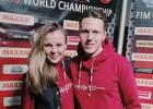 Video: Sieva karstasinīgi atbalsta Latvijas sportistu