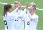 Video: Latvijas sieviešu futbola izlase atkārtoti piekāpjas Baltkrievijai