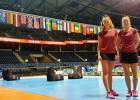 Badmintonistes Lencēviča un Romanova turnīru Panevēžā noslēdz ar trešo vietu