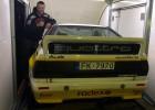Brāļi Velmes ar savu 470 Zs jaudīgo ''Audi Quattro A2'' gatavi Leģendu rallijam