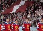 PČ favorīte Latvija virtuāli pieveic krievus, ceturtdien ceturtdaļfināls pret Kanādu