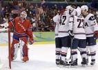 ASV hokejisti pārliecinoši apspēlē norvēģus