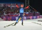 Krievijai pirmais zelts biatlona stafetē, Svensens iegāž Norvēģiju