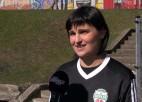 """Video: Sintija Čamane: """"Pārāk sabijāmies spēles pirmajā puslaikā"""""""