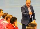 """Telpu futbola izlases treneris Šketovs: """"Izlasē notiek paaudžu maiņas process''"""