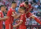 """Bayern"" debitantam vārti; ""Köln"" izkrīt no Bundeslīgas"
