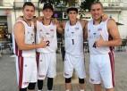 3x3 basketbolisti neatļaujas vaļības un iegūst iespēju aizstāvēt Eiropas čempionu titulu
