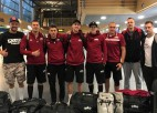 Latvijas 3x3 basketbola izlase ar Strēlnieku briest cīņai par Tokijas olimpiādi
