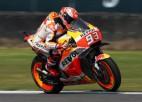 """""""MotoGP"""" kvalifikācijā Austrālijā triumfē čempions Markess"""