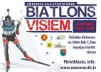 """Svētdien Madonā jaunās biatlona šautuves atklāšanas sacensības """"Biatlons visiem"""""""