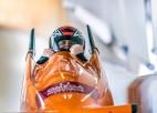 Parabobslejists Klots izcīna bronzu Eiropas čempionātā