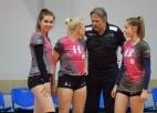 Latvijas čempionātā volejbolā sievietēm uzvar mājinieces
