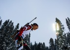 Biatlona klasika: Bendikas trešā iespēja Estešundā