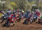 Latvijas motokrosa čempionātā šosezon pieci posmi