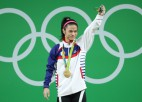 Kohas kategorijas Rio olimpiskā čempione diskvalificēta uz trijiem gadiem